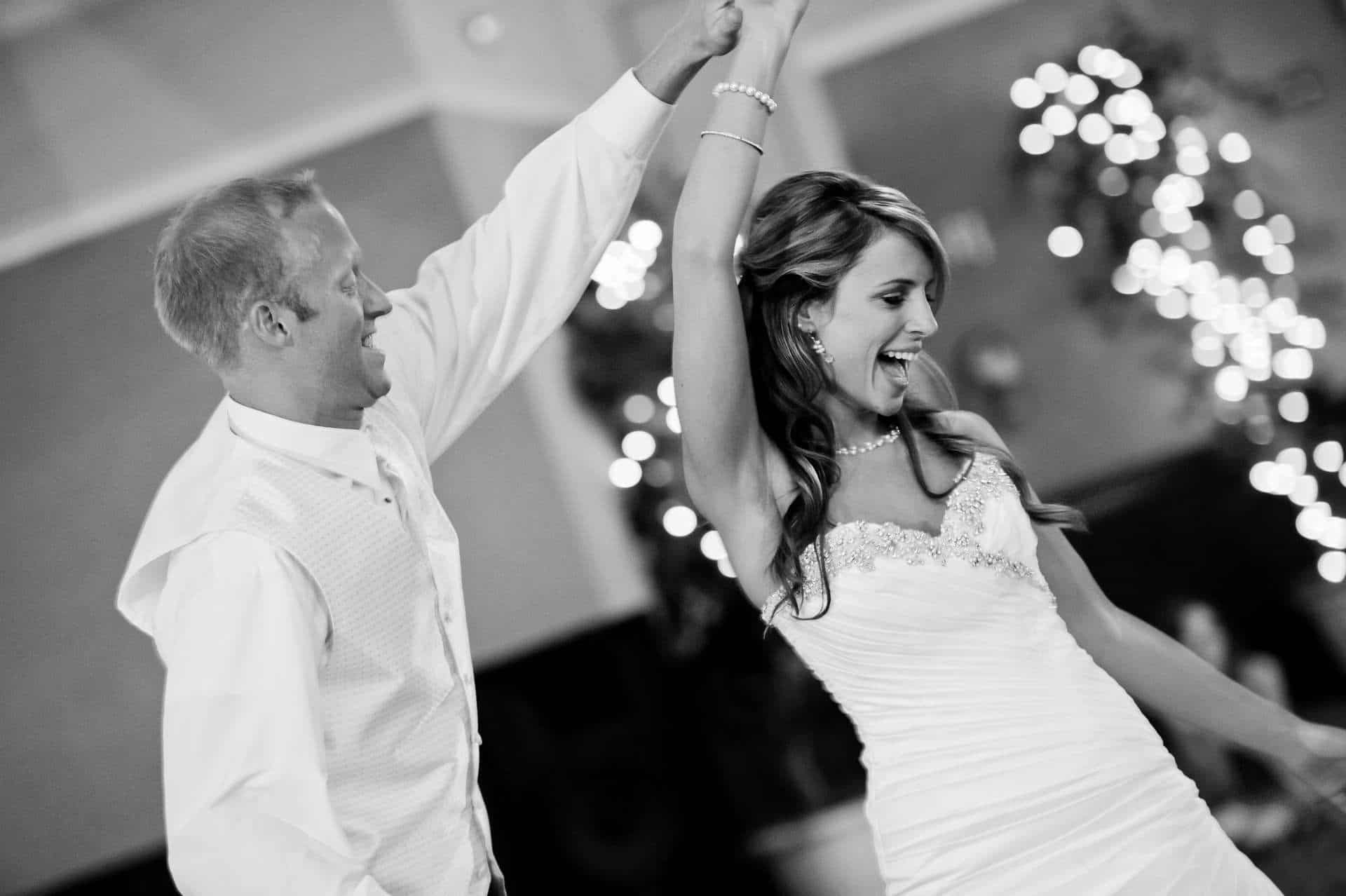 wedding dance couple